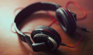 headphones for audio content