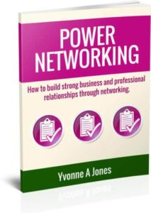 Power Networking by Yvonne A Jones
