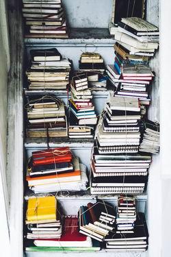 unused book clutter - clear clutter in workspace